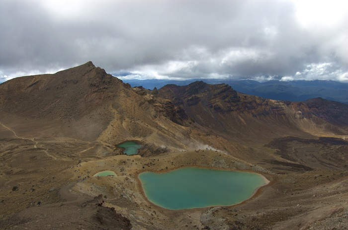Mt Tongariro, New Zealand - 50 Surreal Travel Destinations