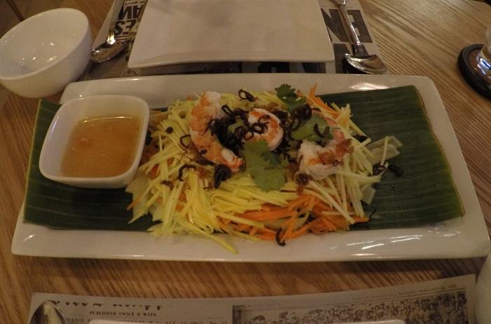Oriental Salad at Tambayan Gastrobar Manila