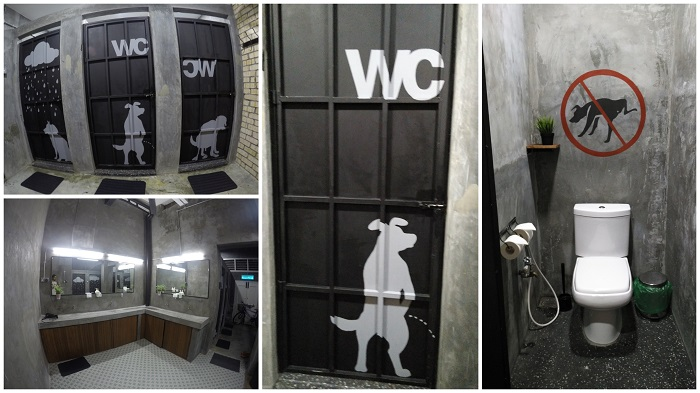 Paper Plane Hostel Shared Toilet Stalls