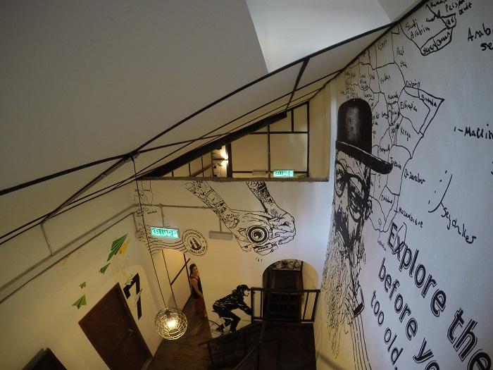 Paper Plane Hostel Interiors