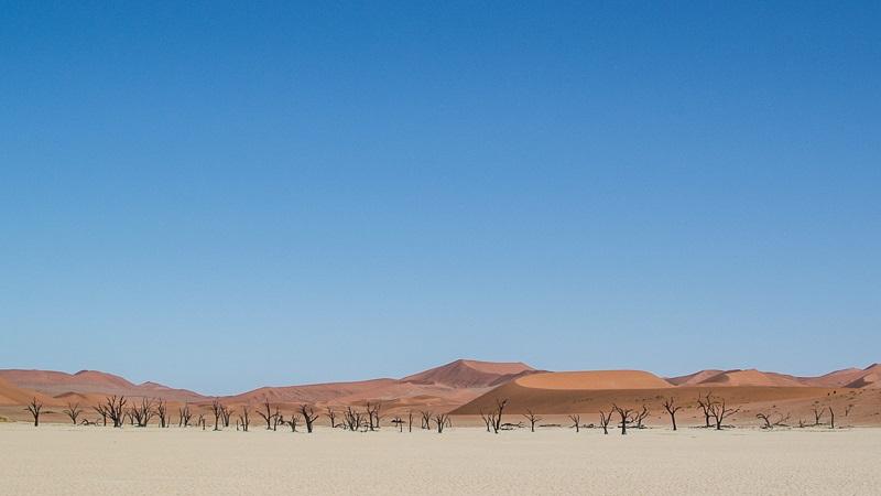 Sossusvlei Desert in Namibia - 50 Surreal Travel Destinations