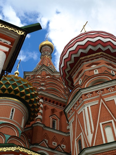 St. Basil's cathedral, Moscow - 50 Surreal Travel Destinations