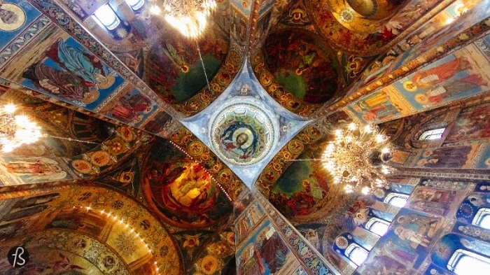 The Church of the Savior, St. Petersberg, Russia - 50 Surreal Travel Destinations