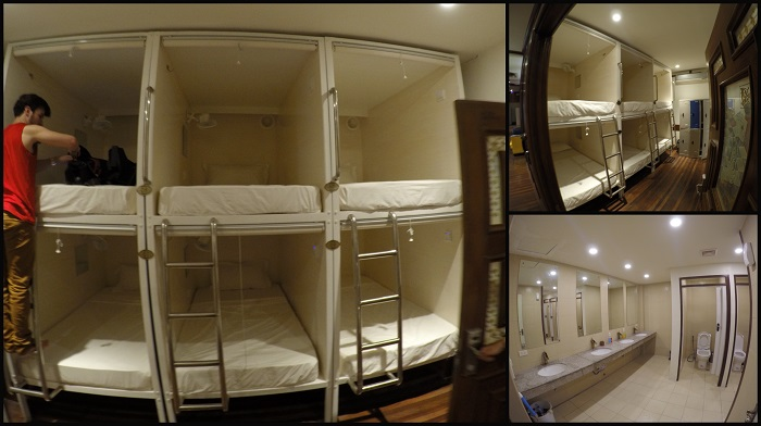 The Dorm Rooms and shared toilet