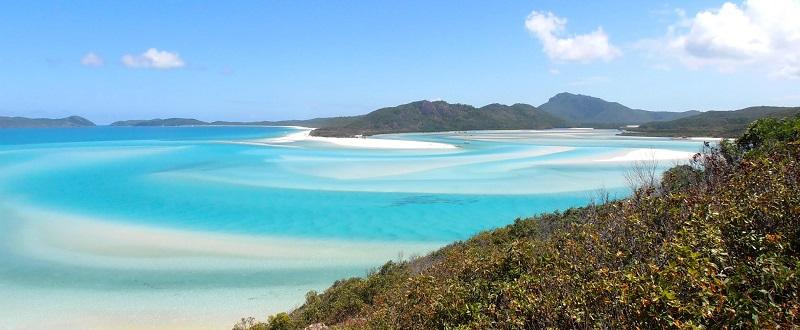 Whitehaven Beach, Australia - 50 Surreal Travel Destinations