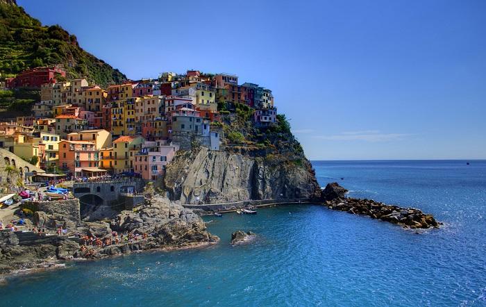 Manarola, Cinque Terre, Italy - 50 Surreal Travel Destinations