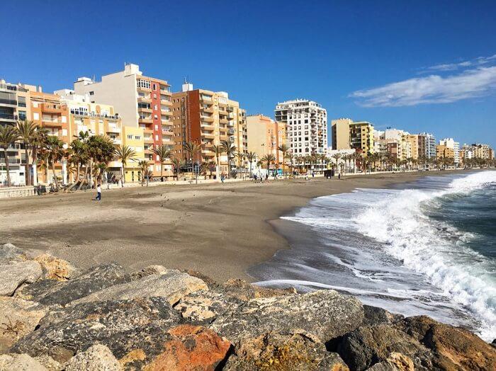 Playa Zapillo – Beach in Almería, Spain