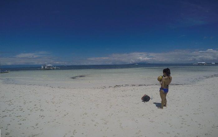 Doljo Beach on Panglao Island, Bohol