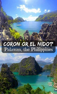 El Nido or Coron - Palawan in the Philippines