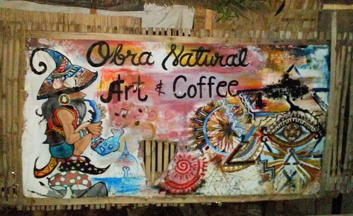 Obra Natural Rasta Cafe in Coron, Palawan