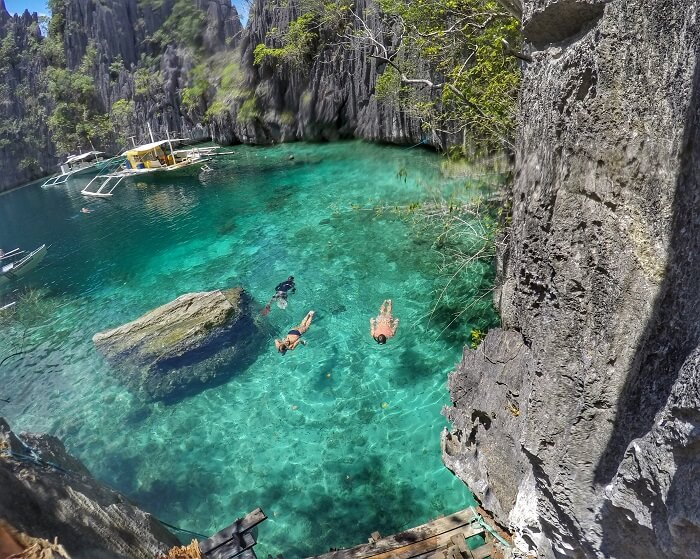 Twin Lagoons Of Coron Palawan