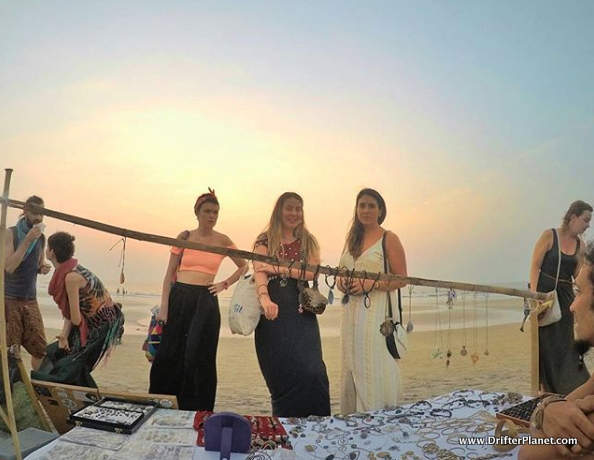Arambol Sunset Beach Market - North Goa Beaches and Beyond