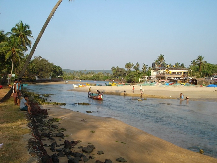 Baga River, North Goa Beaches