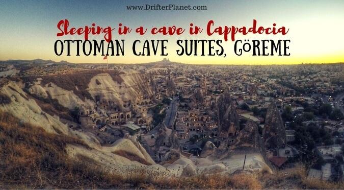 Sleeping in a Cave in Cappadocia – Ottoman Cave Suites, Göreme