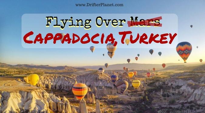 Hot Air Balloon Ride in Cappadocia, Turkey - Mind-blowing