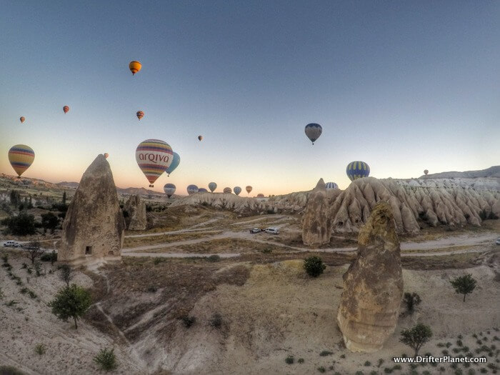 Hot Air Balloon Ride In Cappadocia Turkey Magical
