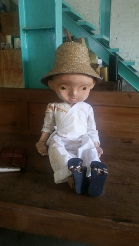 My favorite puppet at Papermoon Puppet Theatre, Yogyakarta