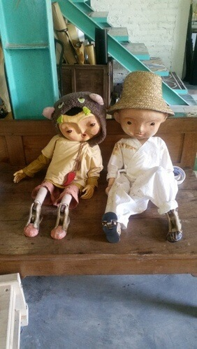 Puppets at Papermoon Puppet Theatre - Things to do in Yogyakarta, Indonesia