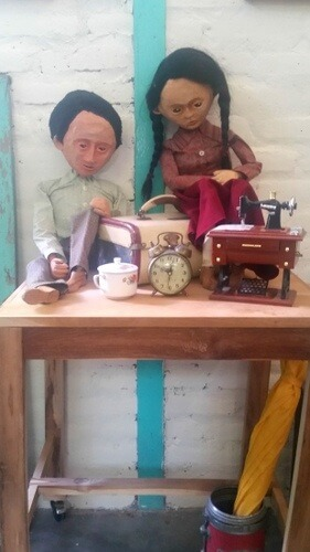 The famous paper puppets of Jogja - papermoon Puppets - Things to do in Yogyakarta, Indonesia