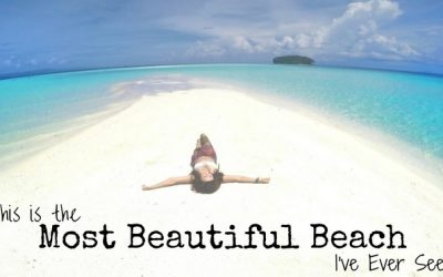 Pasir Timbul – the Most Beautiful Beach I've ever seen