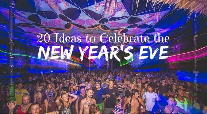 20 Ideas to Celebrate the New Year's Eve | Drifter Planet