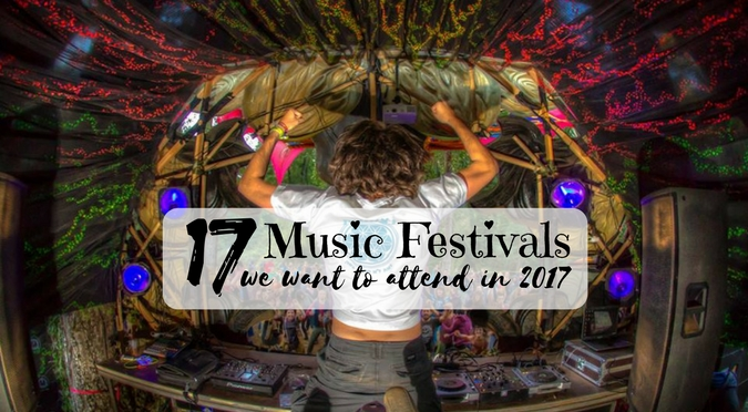 17 Psytrance Festivals You Should Attend in 2017