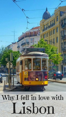 Lisbon's legendary yellow tram - tram 28 - falling in love with Lisbon, Portugal