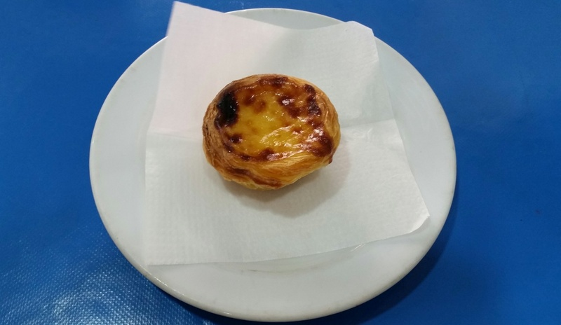 Pastel de nata or Egg tart in Lisbon - falling in love with Lisbon, Portugal