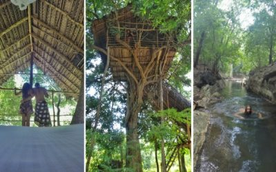 Sleeping in a tree house in Sri Lanka.. in the middle of the forest!