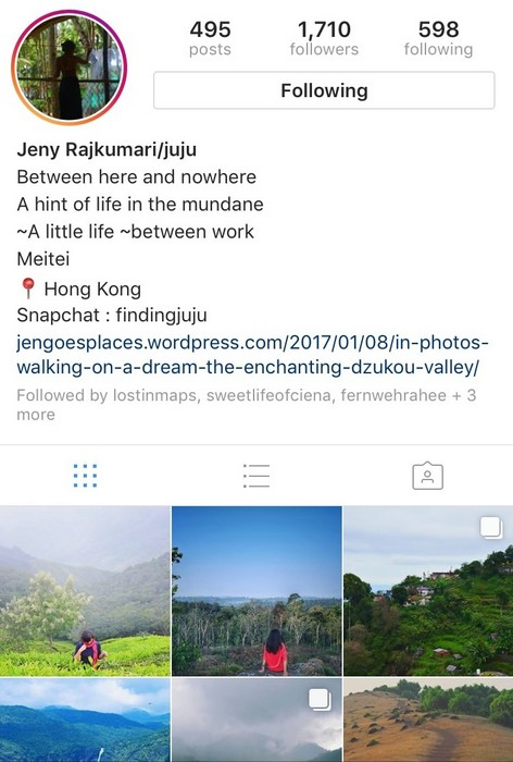 Jeny Goes Places on Instagram