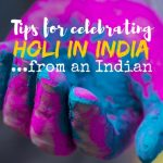 Tips for celebrating Holi in India