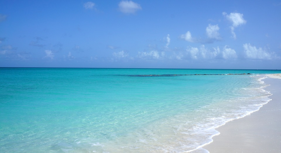 White Sand and Blue Water beach - The Turks and Caicos Islands