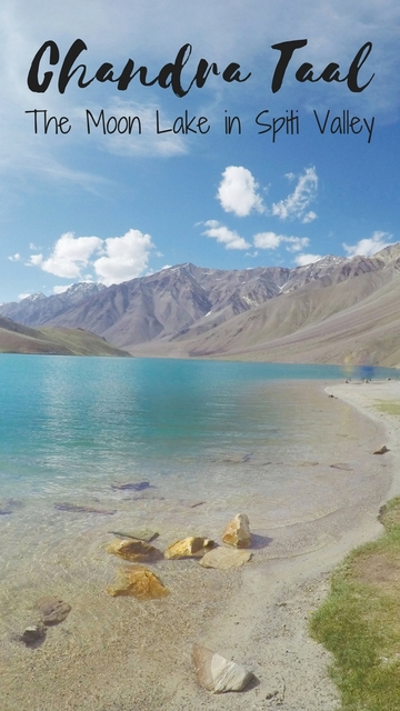 Chandra Taal - The Moon Lake in Spiti Valley. I trekked for 5 days in the Himalayas (India) to reach this spot.