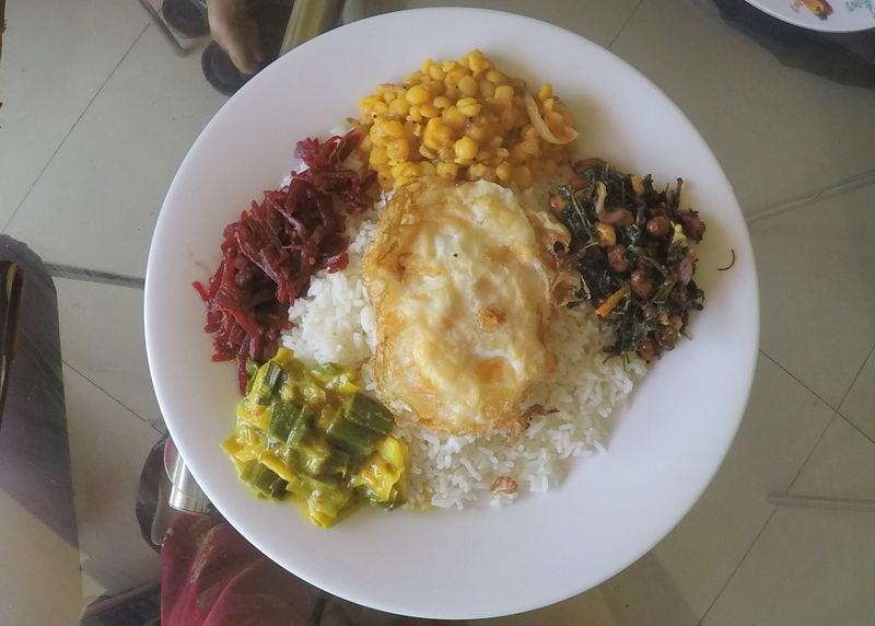 Egg Rice & Curry in Sri Lanka - things to do in Sri Lanka