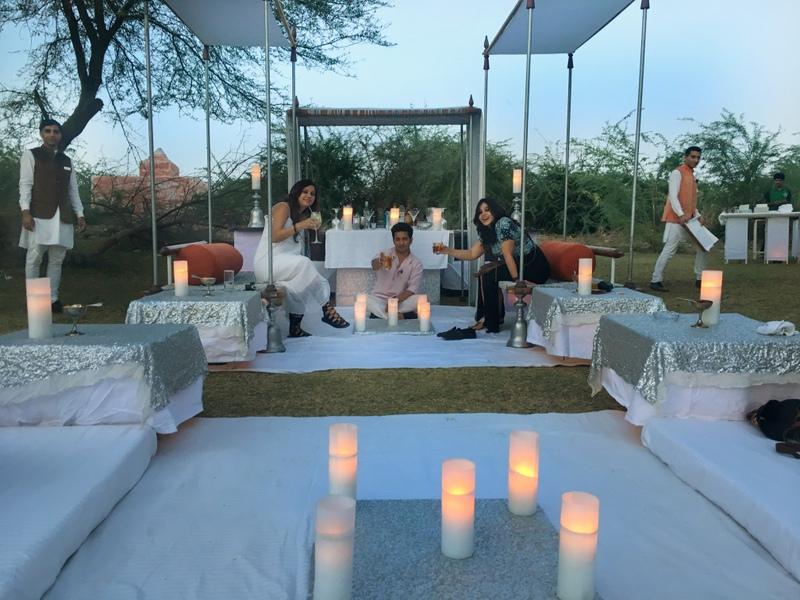 Our set up in Darbari, Bikaner, Rajasthan