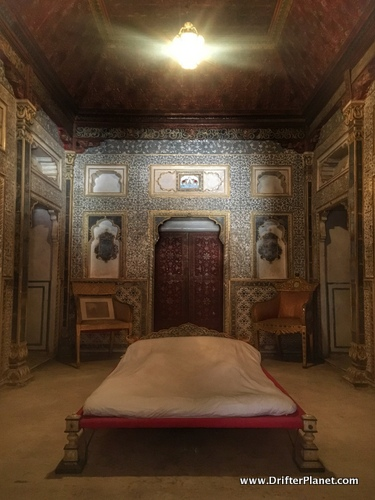 Queen's Room in Junagarh Fort, Bikaner, Rajasthan, India