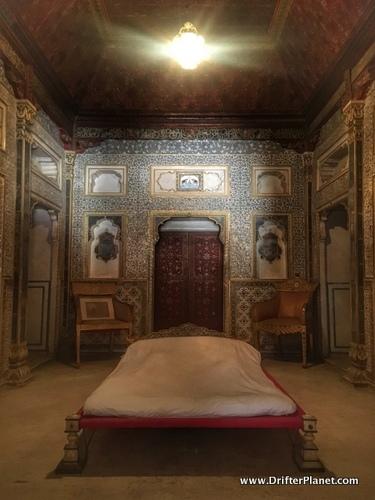 Queen's Room in Junagarh Fort, Bikaner, Rajasthan, India