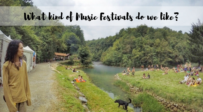 What Kind of Music Festivals Do We Like?