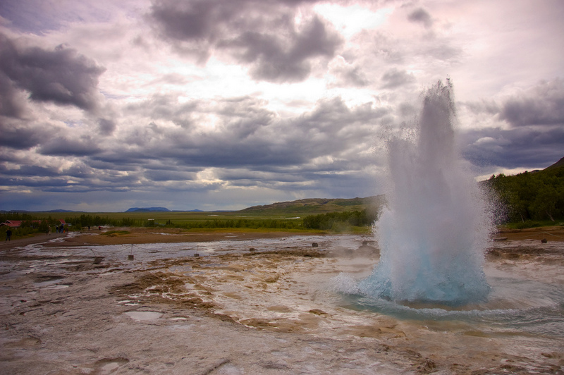Strokkur, Geysir - Iceland is the land of Ice and Fire