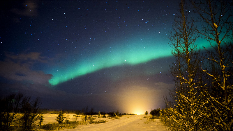 The Northern Lights - Iceland is the land of Ice and Fire