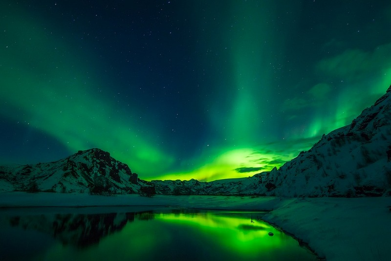 The Northern Lights in Iceland - the land of Ice and Fire