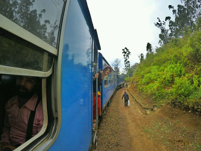 Train ride in Ella - Sri Lanka Itinerary