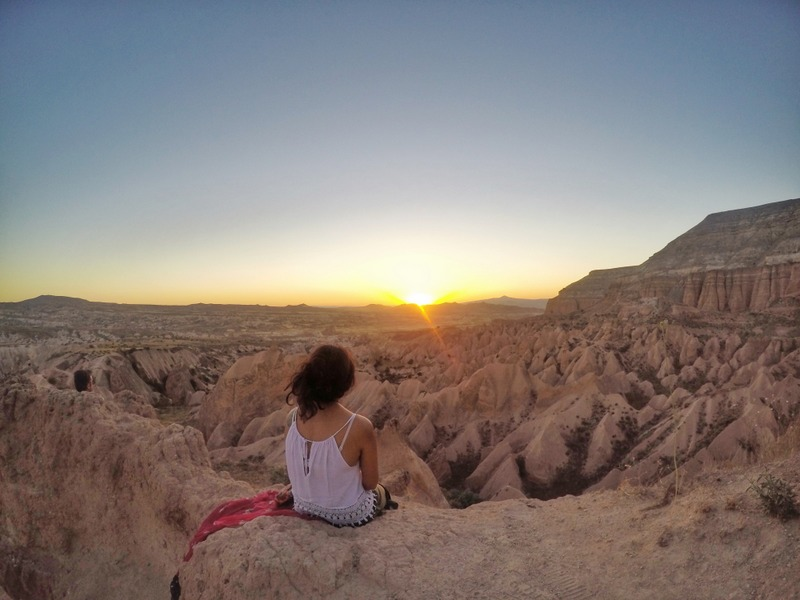 Sunset at Red Valley, Cappadocia, Turkey