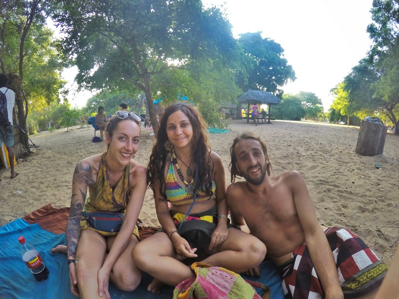 Here's us enjoying Atman Festival at Peanut Farm, Arugam Bay - Sri Lanka Itinerary