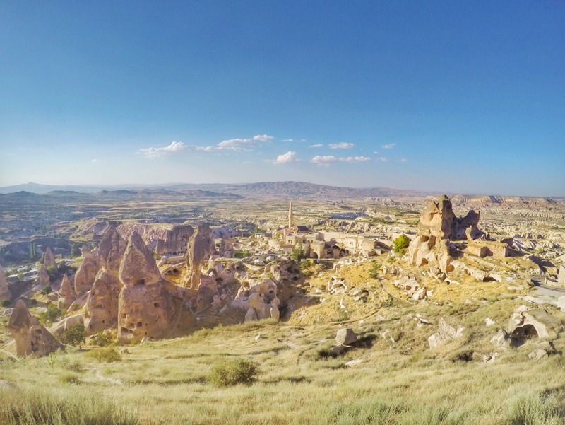 The view from Uchisar Place, Cappadocia