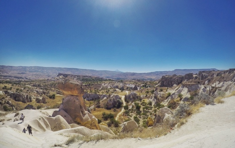 Cappadocia's bizarre landscape