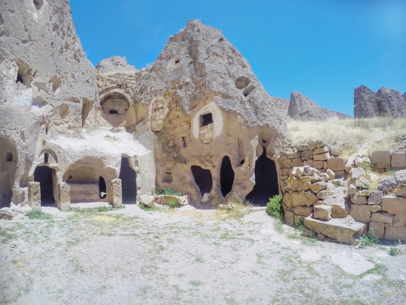 Cappadocia has caves everywhere