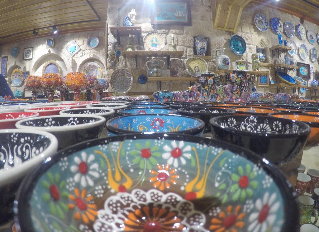 Cute art shops in Göreme, Cappadocia