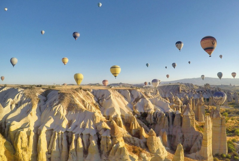 Fairy Chimneys in Göreme, Cappadocia, Turkey