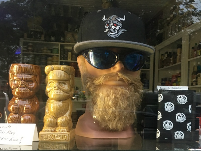 Fake Beard in a store in Hamburg, Germany